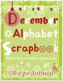 December Alphabet Scrapbook