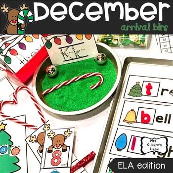 December Arrival Bins--ELA Edition