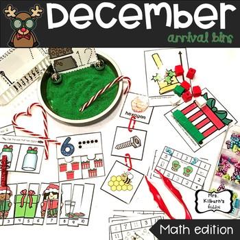 December Arrival Bins--Math Edition