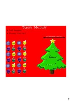 December Attendance File - Smart Notebook File