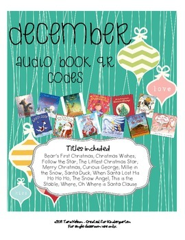 December Audio Book QR Codes