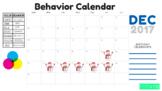 December Behavior Chart