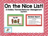 December Behavior Management System