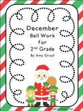 December Bell Work for Second Grade