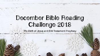 December Bible Reading Challenge 2018 Edition