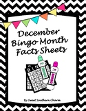 December Bingo Month Fact Sheets