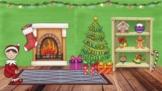 December Bit Emoji Classroom Template {Google Slides Format}