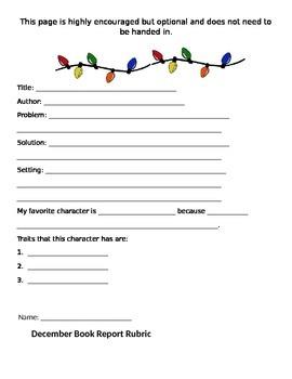 December Book Report