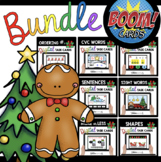 December Boom BUNDLE for Kindergarten - Distance Learning