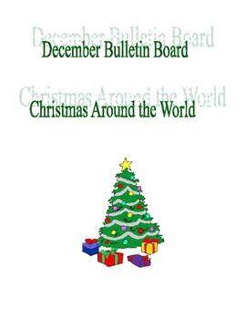 December Bulletin Board Christmas Around the World