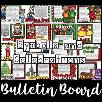 December Bulletin Board - Symbols and Celebrations