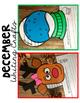December Bulletin Board Writing Crafts