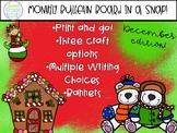 December Bulletin Board in a Snap!