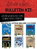 Winter Bulletin Board or Door Kit
