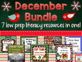 Literacy Centers: December | Activities Multisensory Holid