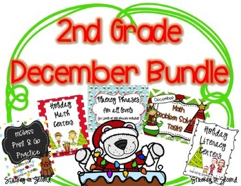 December Bundle {Math and Literacy}