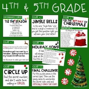 December CRACK THE CODE (Grades 1-5)