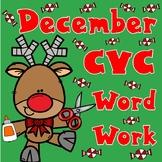 December CVC Word Work