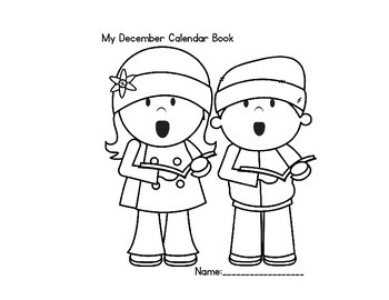 December Calendar Book