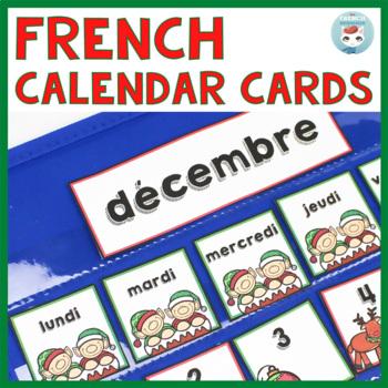 French December Calendar Cards | Décembre