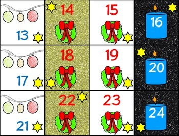 December Calendar Cards (Set 2)
