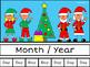 December Calendar Concepts: Following Directions & Answeri