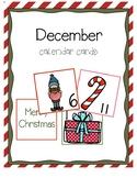 December Calendar Days