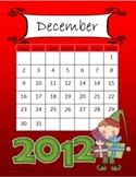 December Calendar Freebie Gift