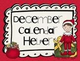 December Calendar Helper