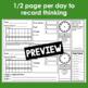 December Calendar Math Student Journal- 4th Grade Edition