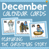 December Calendar Cards - Nativity Christmas Story