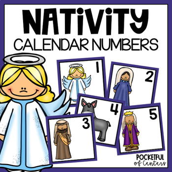 Nativity Calendar Numbers