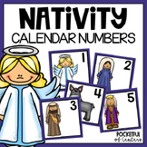 Nativity Calendar Numbers