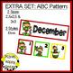December Calendar Numbers or Math Station Number Cards