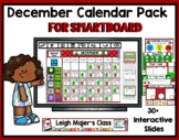 2016 December Math and Calendar Pack for Smartboard