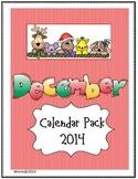 December Calendar Packet