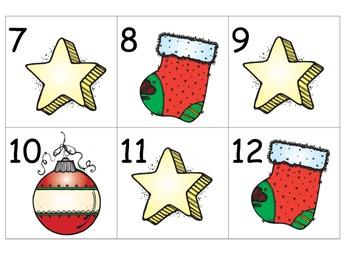 December Calendar Pattern