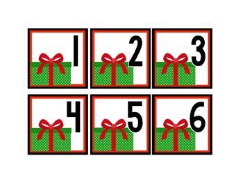 December Calendar Pieces