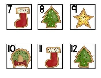 December Calendar Pieces - Christmas and Winter Themes