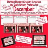 December Calendar Questions