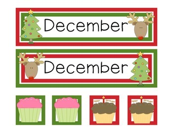 December Calendar Set (2 sets)