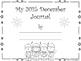 December Calendar and Matching Journal Cover - Freebie