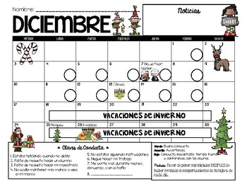 December Calendar for Esmer :)