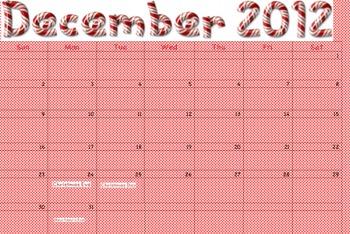 December Calendars