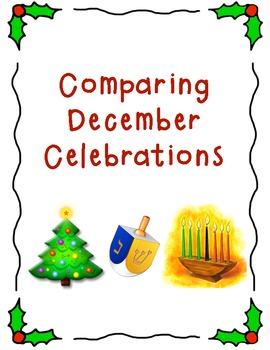December Celebration Comparison Chart