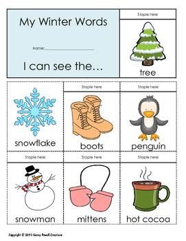 December Celebrations Flip Book Unit