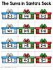 December Center - Sums in Santa's Sack