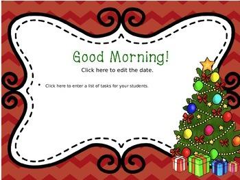 December Chevron Morning Message