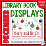 Library Display Posters December & Christmas