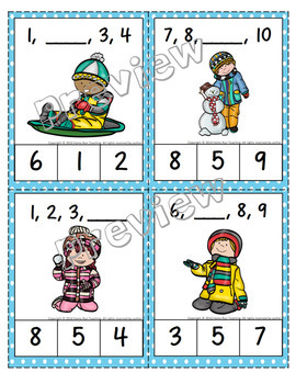 December/Christmas Math, Literacy, and Games Bundle